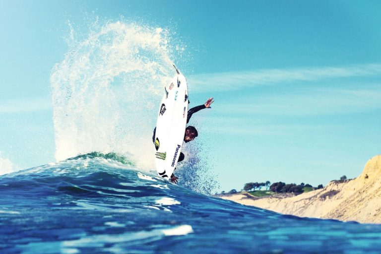 Climate change is good for surfing. Other sports, not so much.